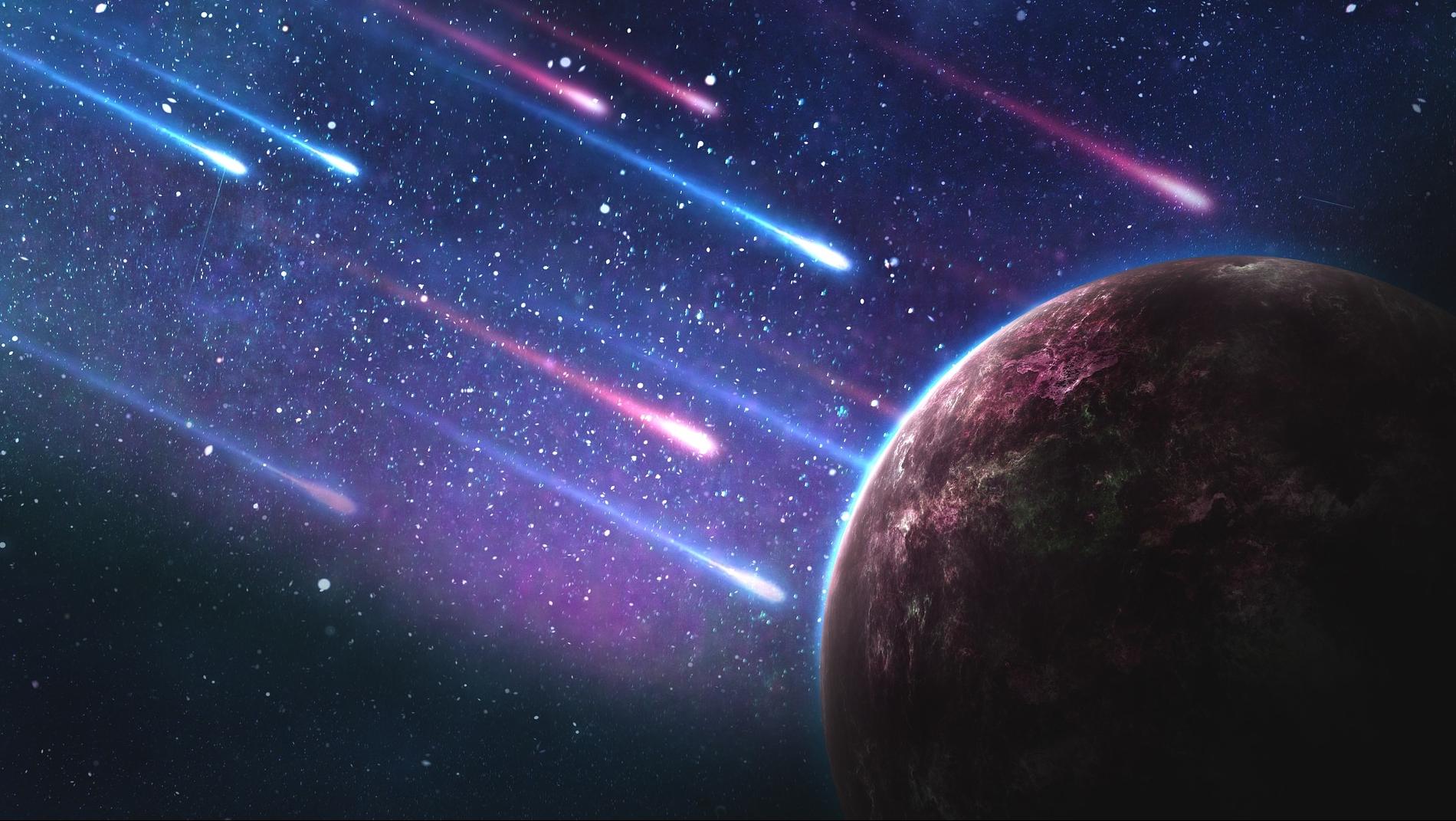 Rüyada Yıldız Göktaşı Kayarken Dilek Tutmak