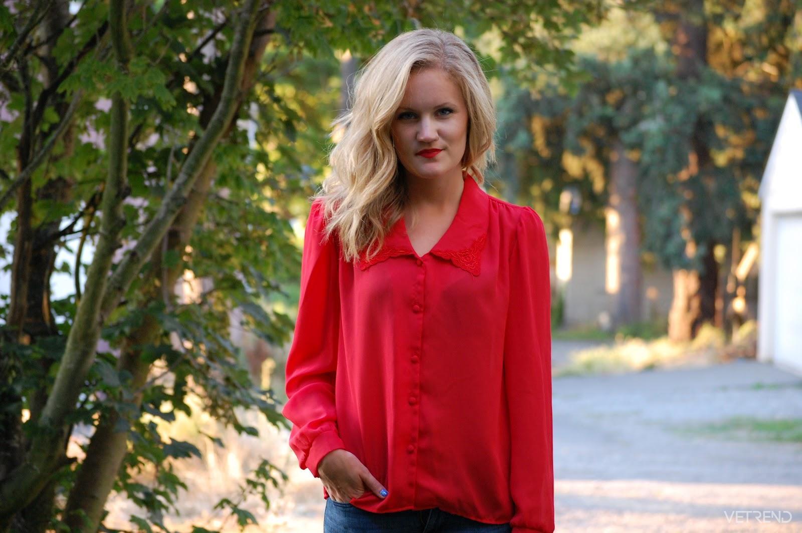 Rüyada Kırmızı Gömlek Giyen Kadın Görmek