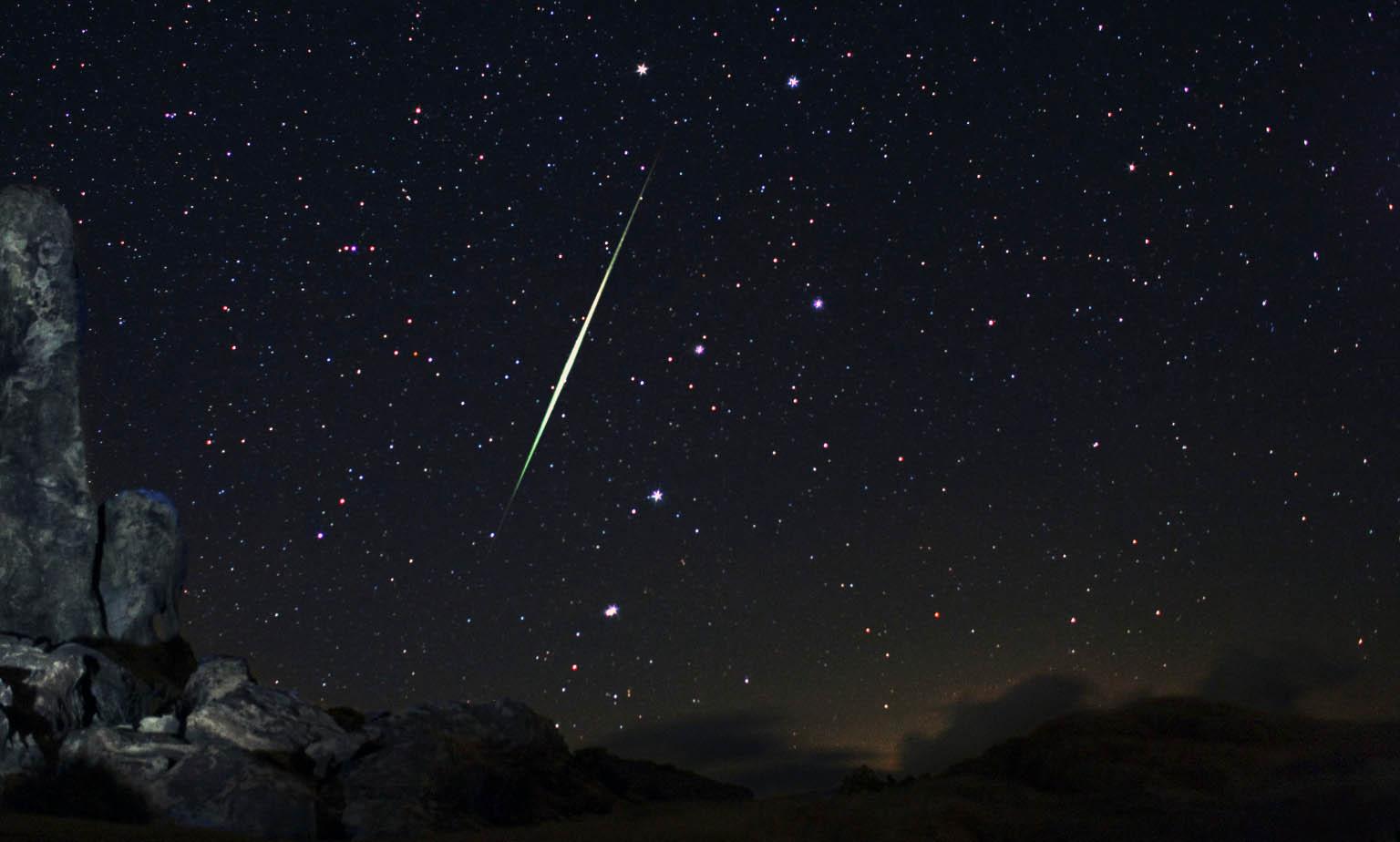 Rüyada Gökyüzünde Yıldız Kayarken Dilek Tutmak