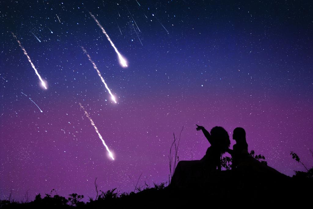 Rüyada Yıldız Kayması ve Dilek Tutmak